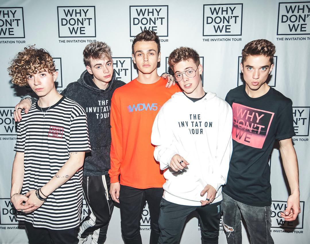 Why Don't We Members